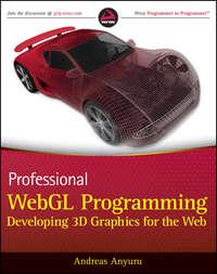 Обложка «Professional WebGL Programming. Developing 3D Graphics for the Web»