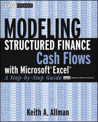 Обложка «Modeling Structured Finance Cash Flows with MicrosoftExcel. A Step-by-Step Guide»