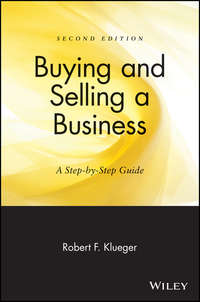 Обложка «Buying and Selling a Business. A Step-by-Step Guide»