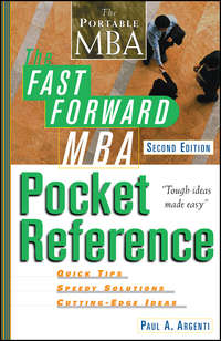 Обложка «The Fast Forward MBA Pocket Reference»