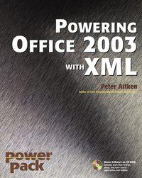 Обложка «Powering Office 2003 with XML»