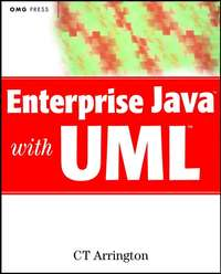 Обложка «Enterprise Java with UML»