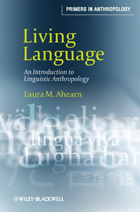 Обложка «Living Language. An Introduction to Linguistic Anthropology»