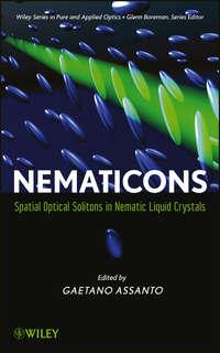 Обложка «Nematicons. Spatial Optical Solitons in Nematic Liquid Crystals»