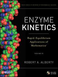 Обложка «Enzyme Kinetics. Rapid-Equilibrium Applications of Mathematica»