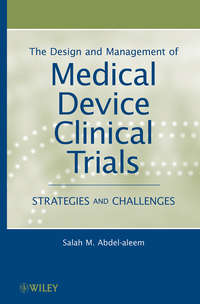 Обложка «The Design and Management of Medical Device Clinical Trials. Strategies and Challenges»