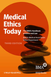 Обложка «Medical Ethics Today. The BMA's Handbook of Ethics and Law»