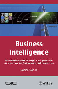 Обложка «Business Intelligence. The Effectiveness of Strategic Intelligence and its Impact on the Performance of Organizations»