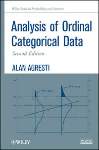 Обложка «Analysis of Ordinal Categorical Data»