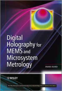 Обложка «Digital Holography for MEMS and Microsystem Metrology»