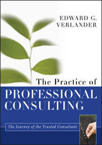 Обложка «The Practice of Professional Consulting»
