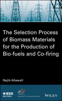 Обложка «The Selection Process of Biomass Materials for the Production of Bio-Fuels and Co-firing»