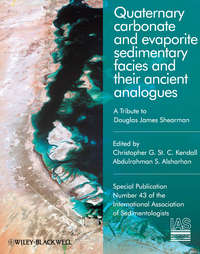 Обложка «Quaternary Carbonate and Evaporite Sedimentary Facies and Their Ancient Analogues. A Tribute to Douglas James Shearman (Special Publication 43 of the IAS)»