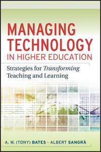 Обложка «Managing Technology in Higher Education. Strategies for Transforming Teaching and Learning»