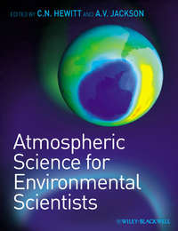 Обложка «Atmospheric Science for Environmental Scientists»