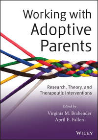 Обложка «Working with Adoptive Parents. Research, Theory, and Therapeutic Interventions»