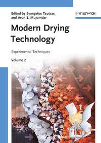 Обложка «Modern Drying Technology, Volume 2. Experimental Techniques»