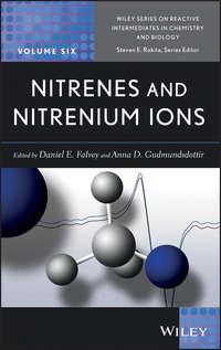 Обложка «Nitrenes and Nitrenium Ions»