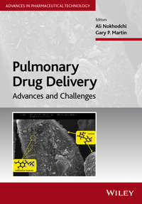 Обложка «Pulmonary Drug Delivery. Advances and Challenges»