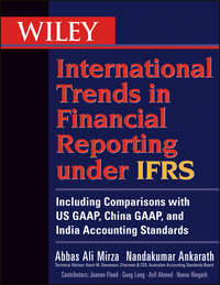 Обложка «Wiley International Trends in Financial Reporting under IFRS. Including Comparisons with US GAAP, China GAAP, and India Accounting Standards»