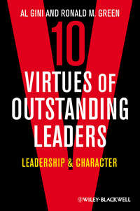 Обложка «Ten Virtues of Outstanding Leaders. Leadership and Character»