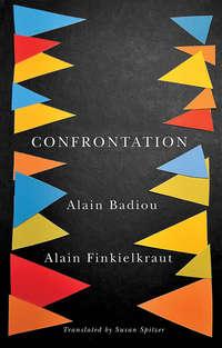 Обложка «Confrontation. A Conversation with Aude Lancelin»