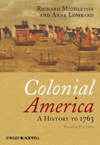 Обложка «Colonial America. A History to 1763»