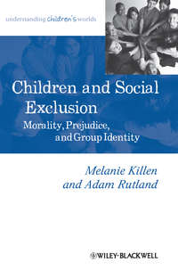 Обложка «Children and Social Exclusion. Morality, Prejudice, and Group Identity»