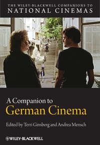 Обложка «A Companion to German Cinema»