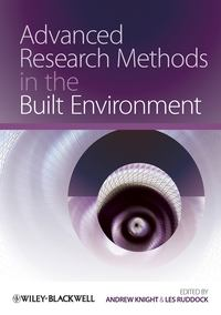 Обложка «Advanced Research Methods in the Built Environment»