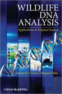 Обложка «Wildlife DNA Analysis. Applications in Forensic Science»
