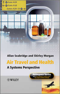Обложка «Air Travel and Health. A Systems Perspective»
