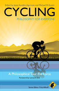 Обложка «Cycling - Philosophy for Everyone. A Philosophical Tour de Force»