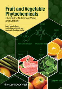 Обложка «Fruit and Vegetable Phytochemicals. Chemistry, Nutritional Value and Stability»
