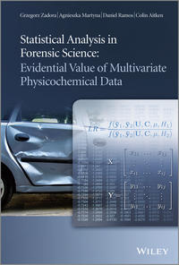 Обложка «Statistical Analysis in Forensic Science. Evidential Values of Multivariate Physicochemical Data»