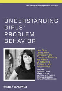 Обложка «Understanding Girls' Problem Behavior. How Girls' Delinquency Develops in the Context of Maturity and Health, Co-occurring Problems, and Relationships»