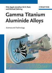 Обложка «Gamma Titanium Aluminide Alloys. Science and Technology»