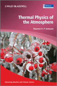 Обложка «Thermal Physics of the Atmosphere»