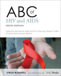 Обложка «ABC of HIV and AIDS»