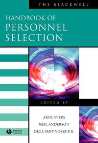 Обложка «The Blackwell Handbook of Personnel Selection»