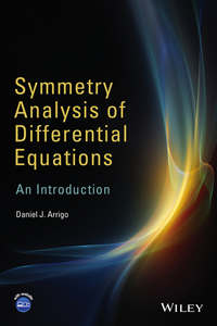 Обложка «Symmetry Analysis of Differential Equations. An Introduction»