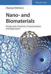 Обложка «Nano- and Biomaterials. Compounds, Properties, Characterization, and Applications»