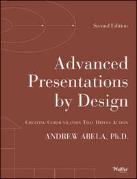Обложка «Advanced Presentations by Design. Creating Communication that Drives Action»