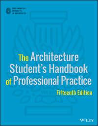 Обложка «The Architecture Student's Handbook of Professional Practice»