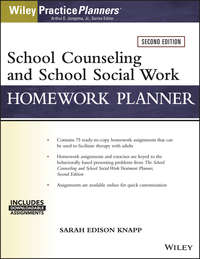 Обложка «School Counseling and Social Work Homework Planner (W/ Download)»
