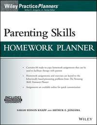 Обложка «Parenting Skills Homework Planner (w/ Download)»
