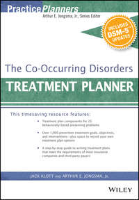 Обложка «The Co-Occurring Disorders Treatment Planner, with DSM-5 Updates»