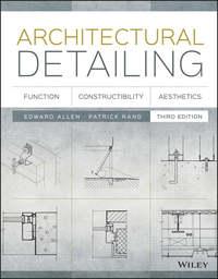 Обложка «Architectural Detailing. Function, Constructibility, Aesthetics»