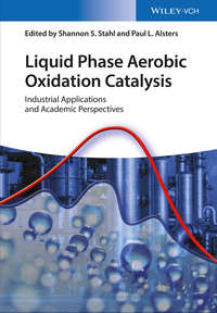 Обложка «Liquid Phase Aerobic Oxidation Catalysis. Industrial Applications and Academic Perspectives»