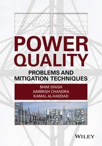 Обложка «Power Quality. Problems and Mitigation Techniques»